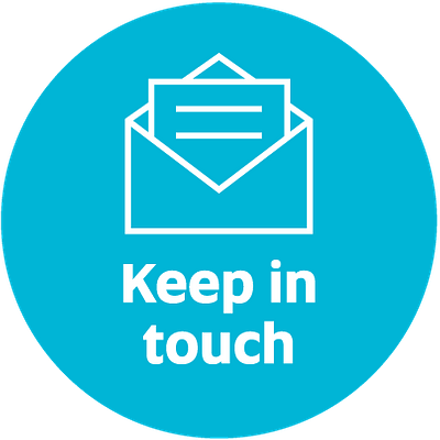 Keep in touch - sign up to our newsletters