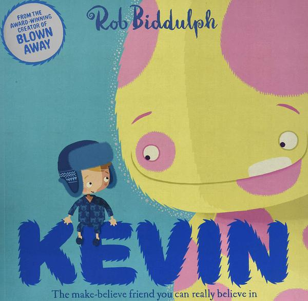 """Front cover of """"Kevin"""" by Rob Biddulph"""