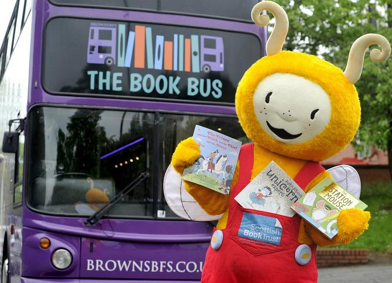 Bookbug and the Book Bus